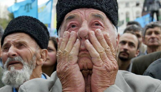 Foto: Ucraina cere comunității internaționale să recunoască drept genocid deportarea tătarilor