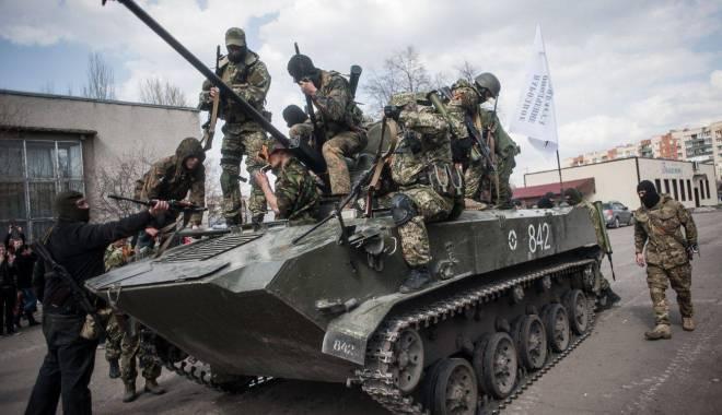 Foto: Berlinul, Moscova și Parisul cer încetarea luptelor în Ucraina