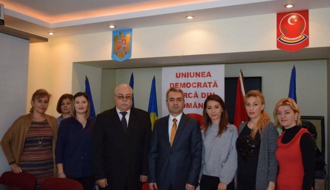 Foto: Întrevedere finală între membrii UDTR şi Consulul Republicii Turcia la Constanţa, Ali Bozcaliskan