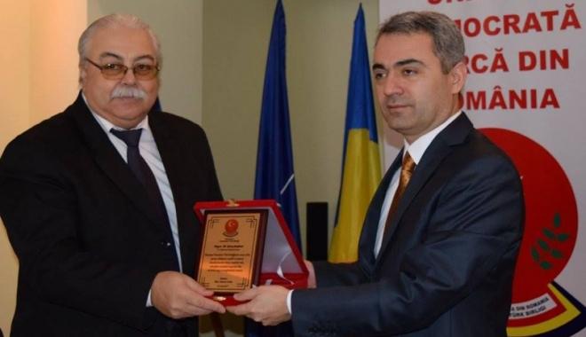 Foto: Consulul Republicii Turcia la Constanţa, Ali Bozcaliskan, întrevedere finală cu membrii UDTR