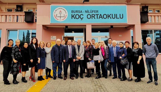 Foto: Delegație a UDTR, schimb de experiență  cu profesori din Turcia