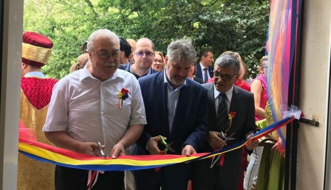 Foto: UDTR a inaugurat Centrul de Educație și Cultură Turcă, la Constanța