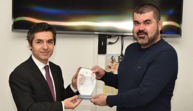 Foto: Ambasadorul Turciei în România, vizită la sediul UDTTMR, la final de mandat