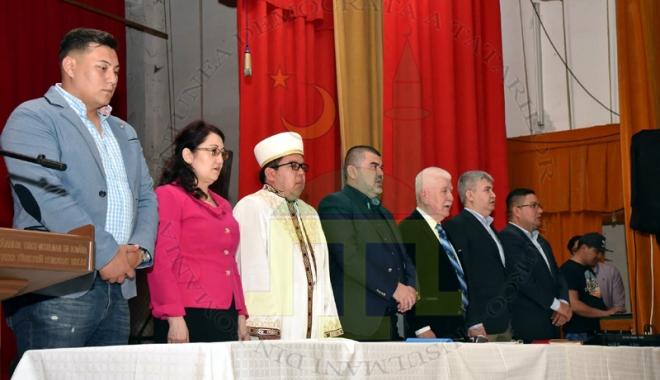 Foto: Gelil Eserghep, reales preşedinte al UDTTMR. Contestatarii ameninţă cu instanţa