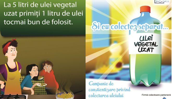 Foto: Cum poţi folosi uleiul uzat de la bucătărie ca şi combustibil