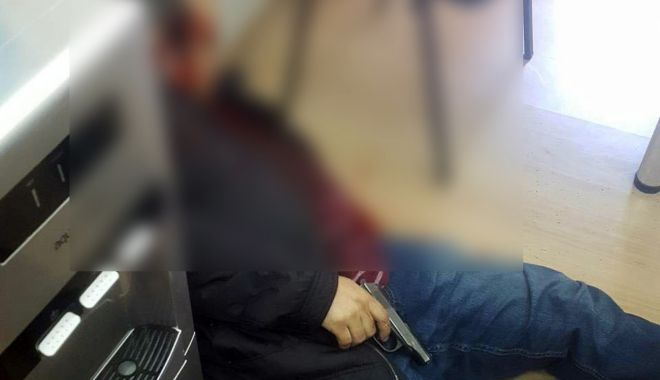 Foto: ALERTĂ! S-a împușcat în cap în oficiul unei companii de creditare! Avea un credit de 13 mii de dolari