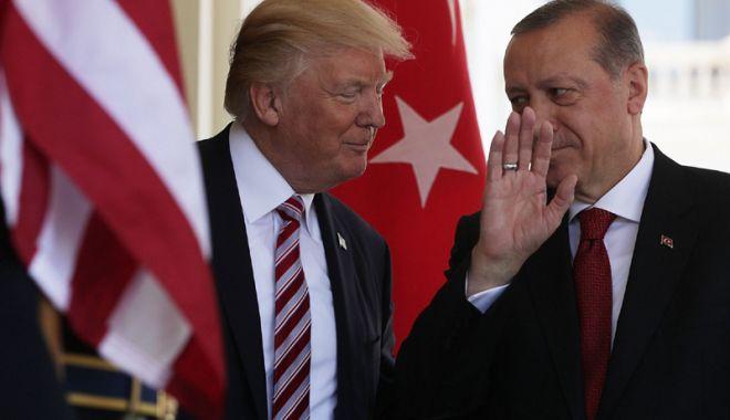 Foto: Ultimatum de la Erdogan pentru Donald Trump