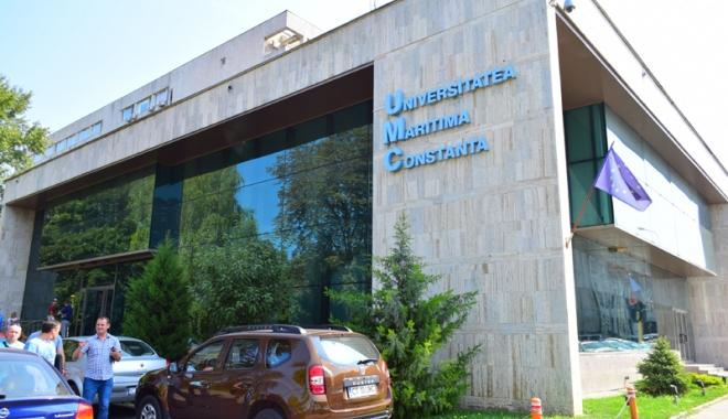 Foto: UMC a inaugurat  un laborator pentru pregătirea ofiţerilor mecanici  şi electricieni