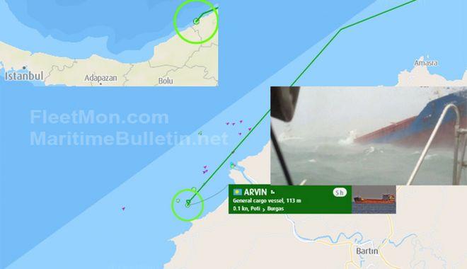 Un cargou se scufundă în rada portului Bartin, de la Marea Neagră. Doi marinari au murit - uncargousescufundainradaportului-1610887788.jpg