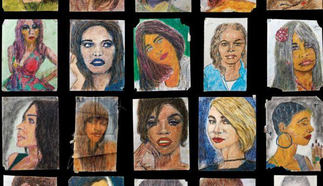 Foto: Un criminal în serie, care a ucis 90 de femei, le desenează portretele în celulă!