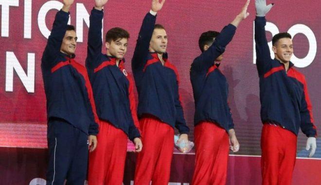 Foto: Unde vedem la TV Mondialele  de gimnastică artistică