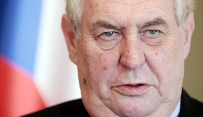 Foto: Uniunea Europeană, acuzată de lașitate! Poziţia fermă a preşedintelui Cehiei