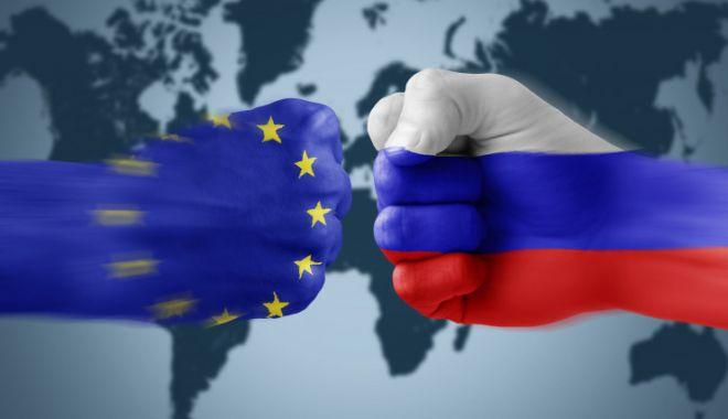 Foto: Uniunea Europeană prelungeşte cu un an sancţiunile impuse Rusiei