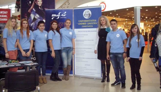 """Universitatea """"Andrei Şaguna"""" implică studenţii  în campanii  de promovare - univandrei-1416935486.jpg"""