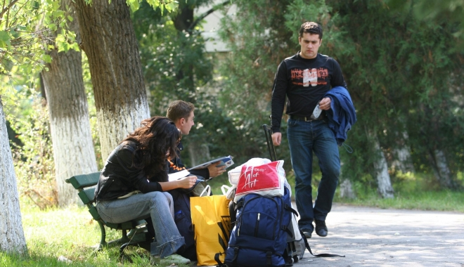 """Foto: Universitatea """"Ovidius"""". Repartizarea studenţilor în cămine, aproape de final"""