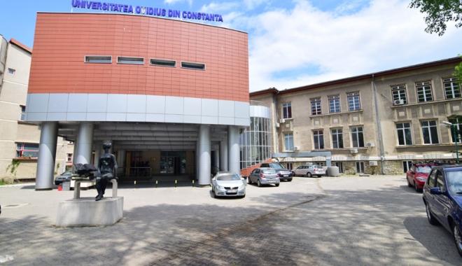 """Foto: Universitatea """"Ovidius"""",  """"incubator""""  pentru viitorii antreprenori  ai Constanţei"""