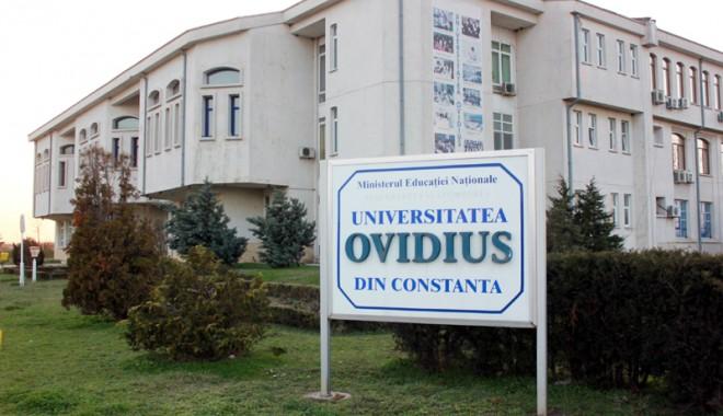 """Foto: Tensiuni la Universitatea """"Ovidius"""". Ce se întâmplă cu profesorul Bordeianu"""