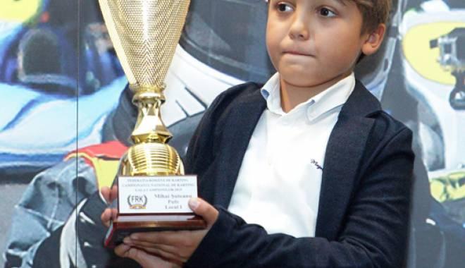 Foto: Un sportiv de la CS Tomis Kart, campion naţional