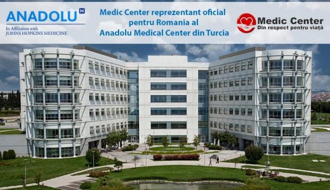 Medicii de la Anadolu Medical Center din Turcia revin la Constanţa şi oferă opinii medicale GRATUITE pacienţilor români