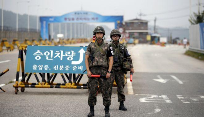 Foto: Un ofiţer al armatei nord-coreene a dezertat în Sud