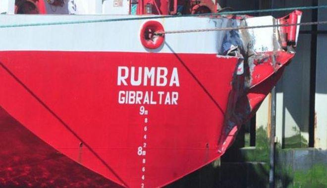 Foto: Un portcontainer norvegian s-a avariat la acostarea în Bremerhaven