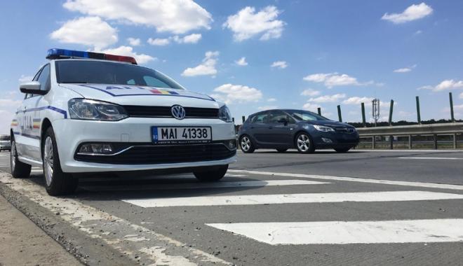 Foto: Un şofer din Constanţa deţine recordul săptămânal  de viteză pe autostradă