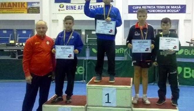 Foto: CS Farul, victorie la Cupa României la tenis de masă