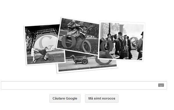 Google și-a modificat logo-ul pentru a celebra centenarul Robert Doisneau - untitled-1334392191.jpg