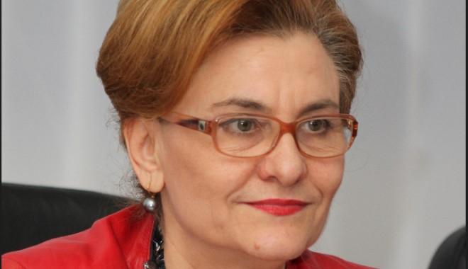 Foto: Maria Grapini susţine scutirea la plată a impozitului reinvestit în cercetare, dezvoltare şi tehnologie
