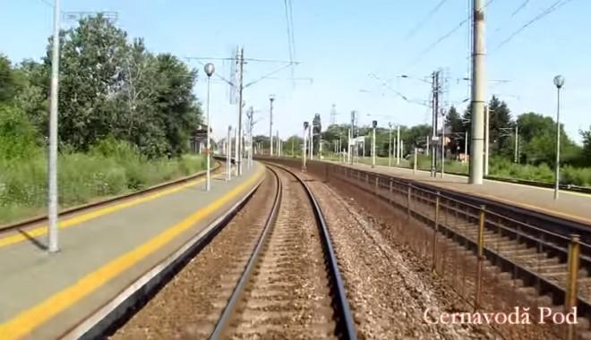 Foto: Bucureşti-Constanţa, 160 km/h - filmarea completă din tren