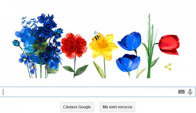 Foto: Google sărbătoreşte prima zi de primăvară astronomică
