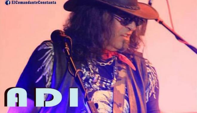 Foto: Adi Bărar cu Blues Band, la Constanţa