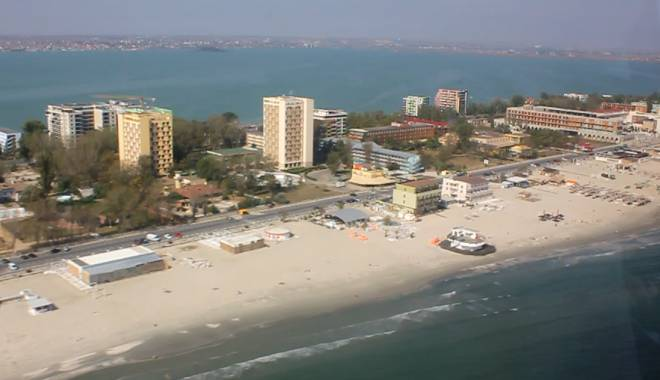 Foto: VIDEO. Cum arat� sta�iunea Mamaia din elicopter, la sf�r�it de sezon estival