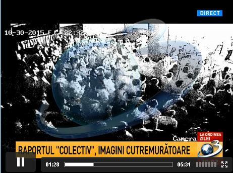 Foto: Tragedia din COLECTIV. Imagini VIDEO �n premier�! Scenele de groaz�, surprinse de camerele de supraveghere