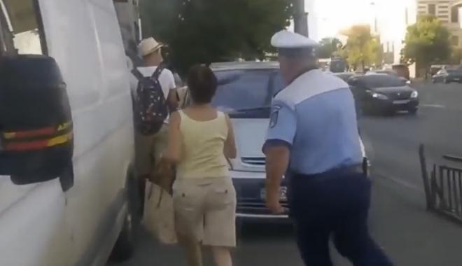 VIDEO. S-a lăsat cu istericale...DIN NOU! Polițiști înjurați ca la ușa cortului, după ce au încătușat o femeie care nu a vrut să se legitimeze - untitled-1471432780.jpg