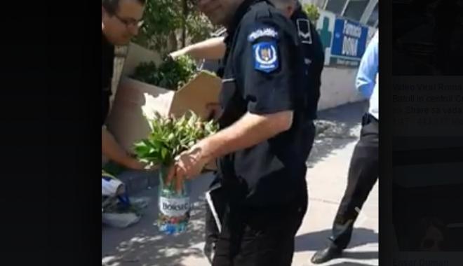 """Foto: """"Localii"""" din Constanţa, făcuţi praf de poliţişti: """"Este necesar să reveniţi la titulatura de gardieni publici"""" / VIDEO"""