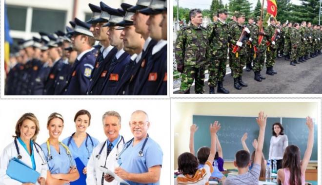 Foto: Dle. poliţist, militar, profesor, medic: Stăm după politicieni sau ne organizăm? Cine preia iniţiativa?