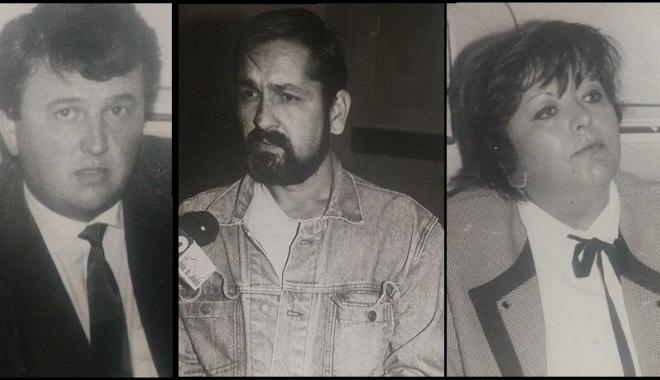 """Foto: Arhiva de Aur """"Cuget Liber"""". Marile ţepe ale anilor 90. Constănţenii plângeau după banii depuşi la Saimanov sau Lupuşoru"""