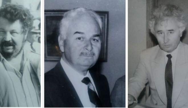 "Foto: Arhiva de Aur ""Cuget Liber"". Trei mari profesori. Amintiri cu Gheorghe Dumitraşcu, Puiu Enache şi Ioan Popişteanu"
