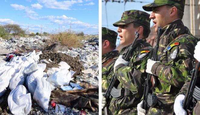 Foto: O propunere de nota 10: În loc de gunoaie, cămin pentru militari, în cartierul Baba Novac