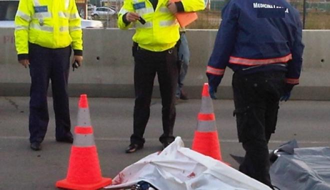 Foto: Pieton lovit mortal de un microbuz în judeţul Constanţa