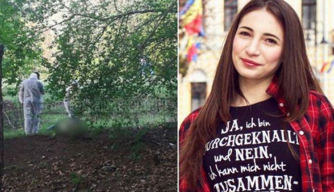 Ea este adolescenta găsită moartă, pe jumătate dezbrăcată, în pădure. Fata are 18 ani, iar criminalul 16