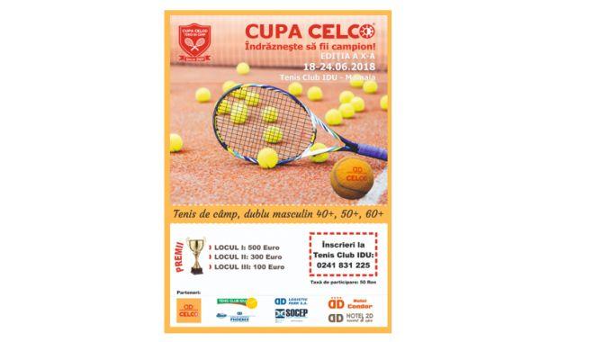 Foto: Începe Cupa CELCO la tenis de câmp