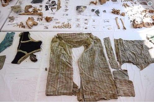 Foto: Trupul unui bărbat ucis în urmă cu 40 de ani, găsit după ce din stomacul acestuia a crescut un smochin