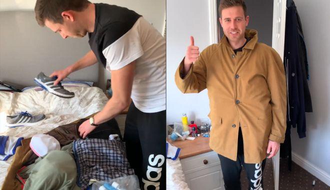 Foto: VIDEO INCREDIBIL. Metoda inedită prin care un pasager Ryanair a fentat noile reguli de bagaje