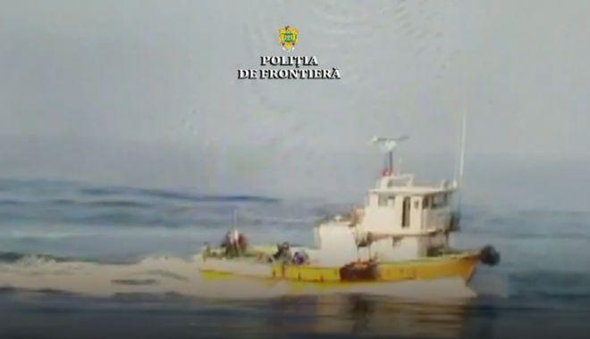 Foto: VIDEO. FOCURI DE ARMĂ PE MAREA NEAGRĂ! Cum s-a petrecut incidentul cu pescadorul turcesc, suprins la braconat