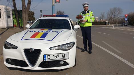Foto: FLORI DE LA POLIȚIȘTI, PENTRU DOAMNE