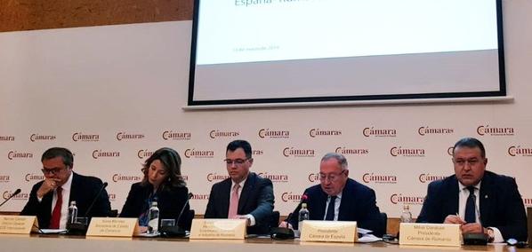 Foto: Mihai Daraban, la Forumul de Afaceri și Investiții România – Spania