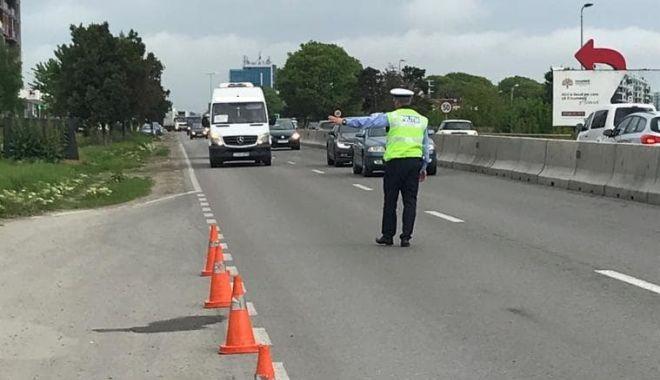 Foto: ACŢIUNE DE AMPLOARE A POLIŢIEI, ŞI LA CONSTANŢA! Şoferi traşi pe dreapta, autovehicule verificate la sânge