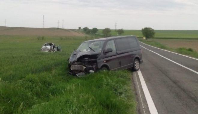 Foto: Accident rutier la Constanţa, soldat cu două victime